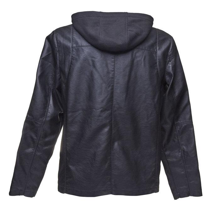 Pánská bunda s kapucí bata, černá, 971-6161 - 26