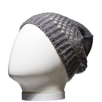 Pletená čepice bata, šedá, 909-2372 - 13
