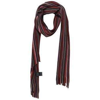 Pruhovaná šála bata, červená, 909-5368 - 13
