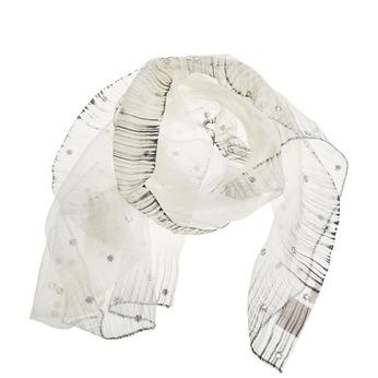 Šátek s kamínky bata, bílá, 909-1551 - 13