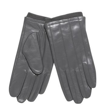 Pánské kožené rukavice s úpletem bata, šedá, 904-2117 - 13