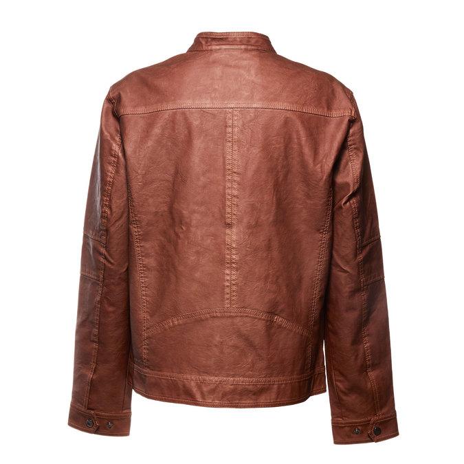 Pánská bunda bata, hnědá, 971-4174 - 26
