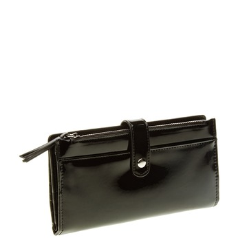 Dámská černá peněženka bata, černá, 941-6129 - 13