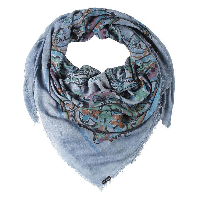 Barevný šátek fraas, modrá, 929-9055 - 13