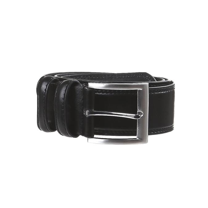 Klasický kožený pásek bata, černá, 954-6888 - 13