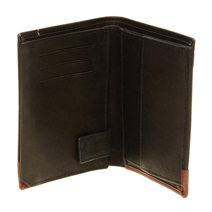 Pánská kožená peněženka bata, černá, 944-6150 - 16