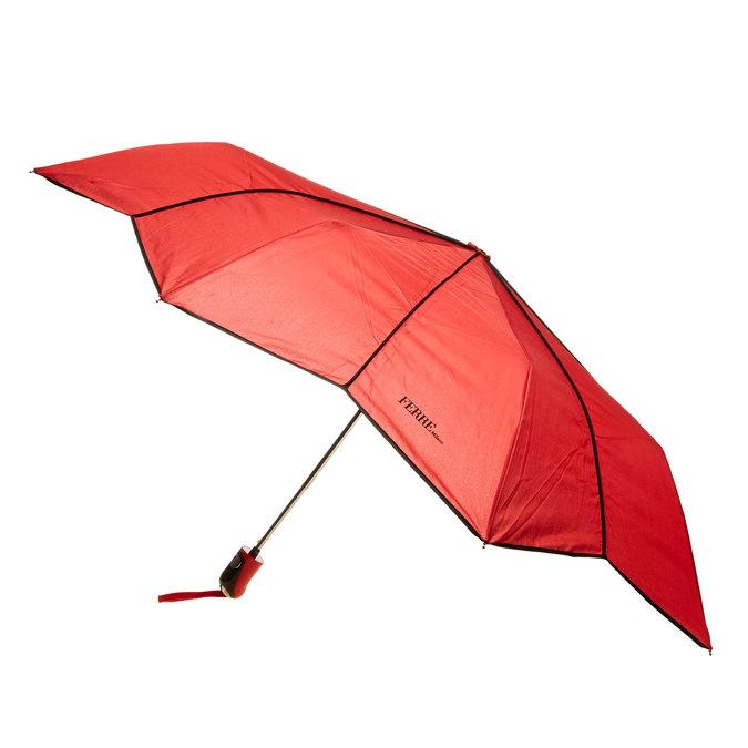 Červený skládací deštník ferre, červená, 929-5052 - 16