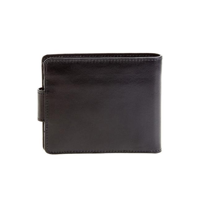 Pánská kožená peněženka bata, černá, 944-6145 - 26