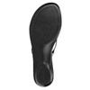 Dámské žabky s kamínky bata, černá, 671-6103 - 26