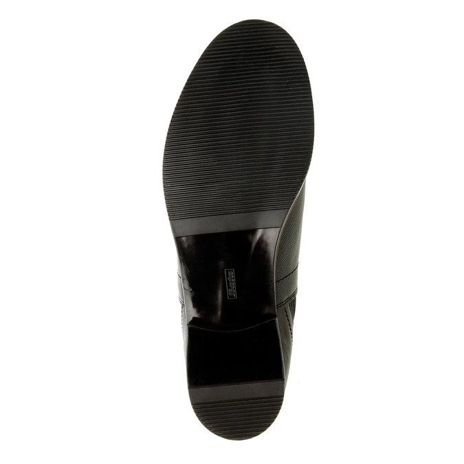 Dámské kožené Chelsea Boots bata, černá, 594-6267 - 26