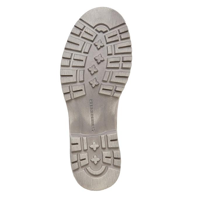 Kožená kotníčková obuv weinbrenner, béžová, 596-8405 - 26