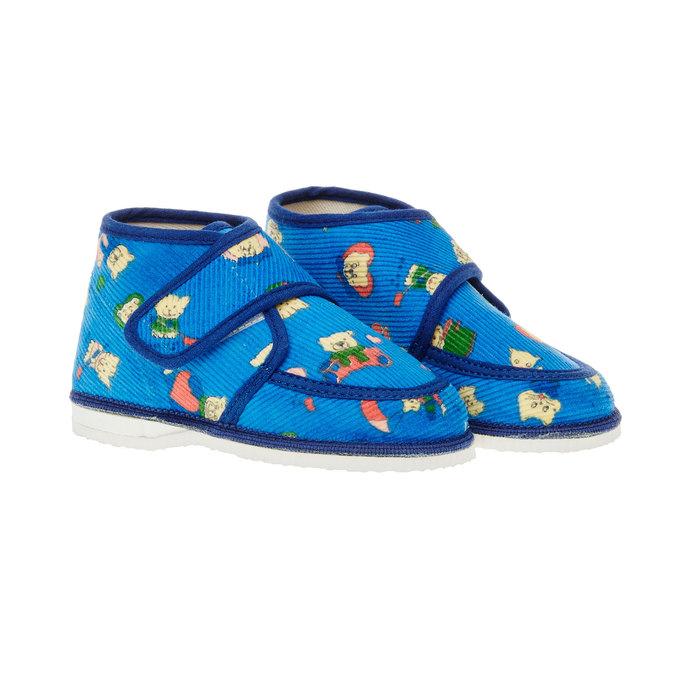 dětská domácí obuv bata, 179-9010 - 26