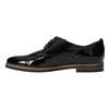 Dámské Derby polobotky bata, černá, 528-6600 - 26