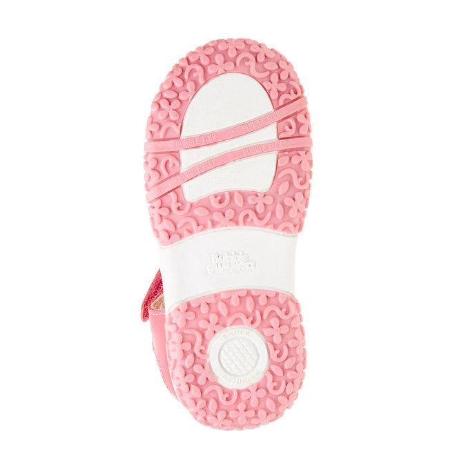 Dětská obuv s uzavřenou patou bubblegummer, růžová, 124-5142 - 26