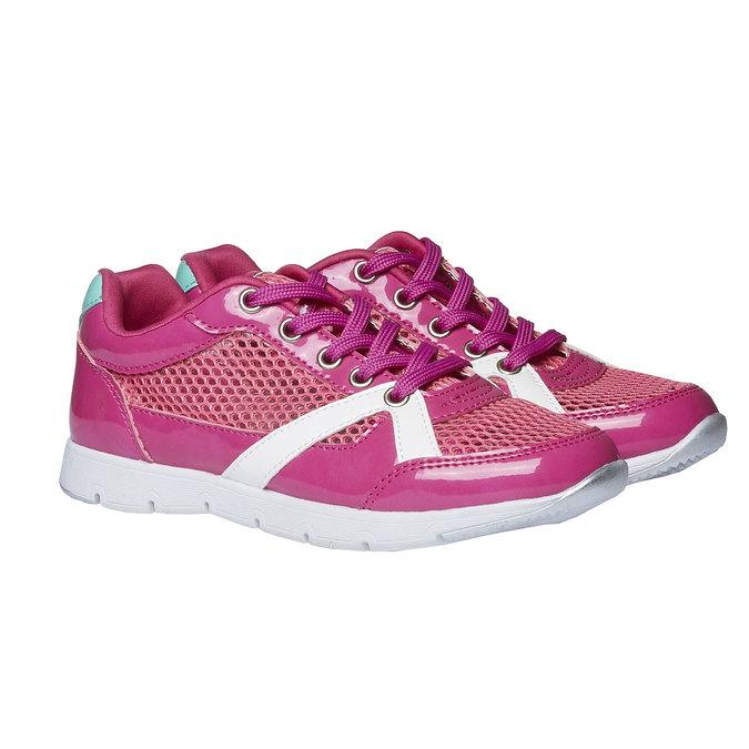 Dívčí sportovní tenisky mini-b, růžová, 329-5175 - 26
