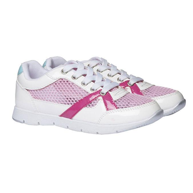 Dívčí sportovní tenisky mini-b, bílá, 329-1175 - 26
