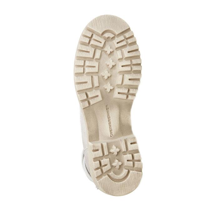 Kožené kotníčkové boty weinbrenner, šedá, 594-2138 - 26