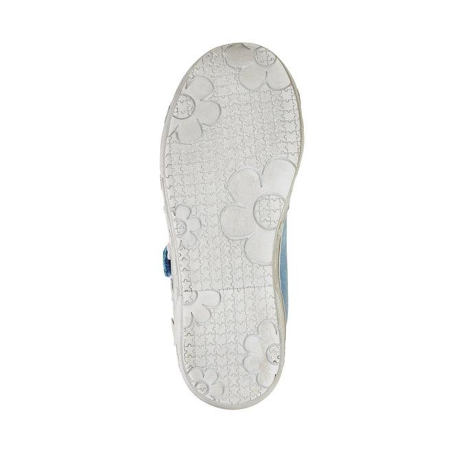Dívčí tenisky na suché zipy mini-b, modrá, 221-9161 - 26