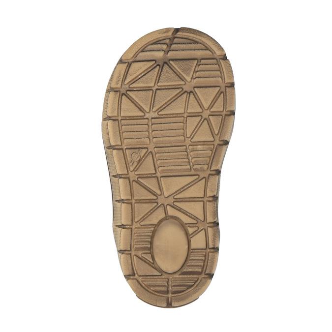 Kožená kotníčková obuv dětská richter, hnědá, 194-8001 - 26