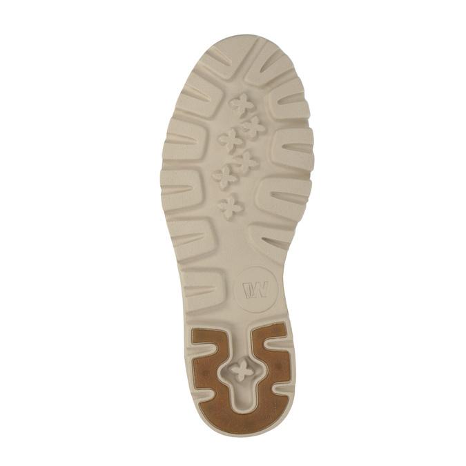 Ležérní kožené polobotky weinbrenner, hnědá, 526-4606 - 26