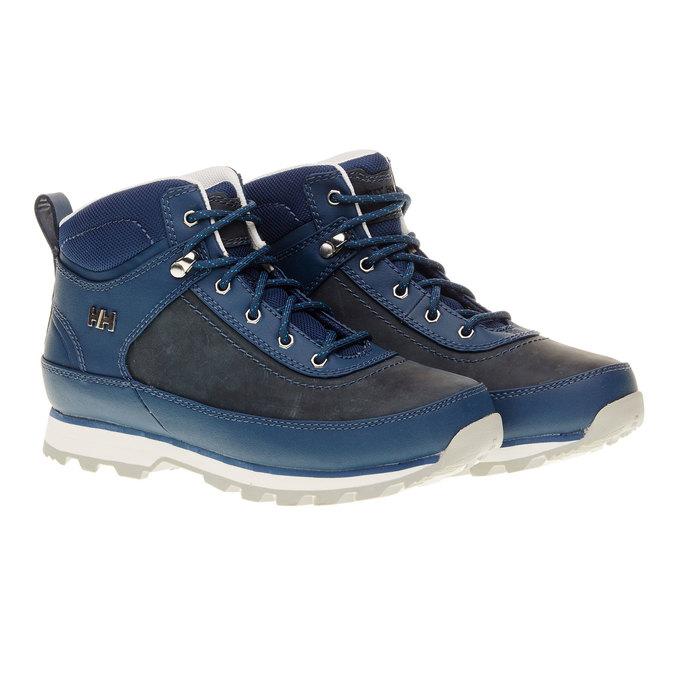 Kožené zimní boty ke kotníkům helly-hansen, modrá, 594-9002 - 26