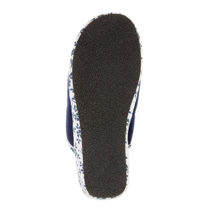 Dámská domácí obuv, modrá, 579-9246 - 26