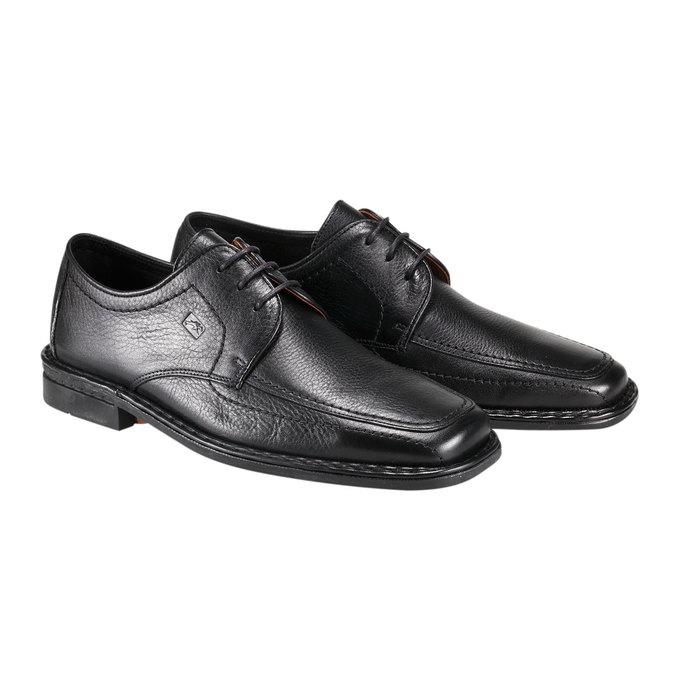 Kožená obuv fluchos, černá, 824-6786 - 26