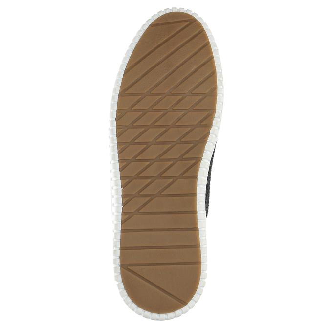Pánské tenisky bata, šedá, 849-2621 - 26