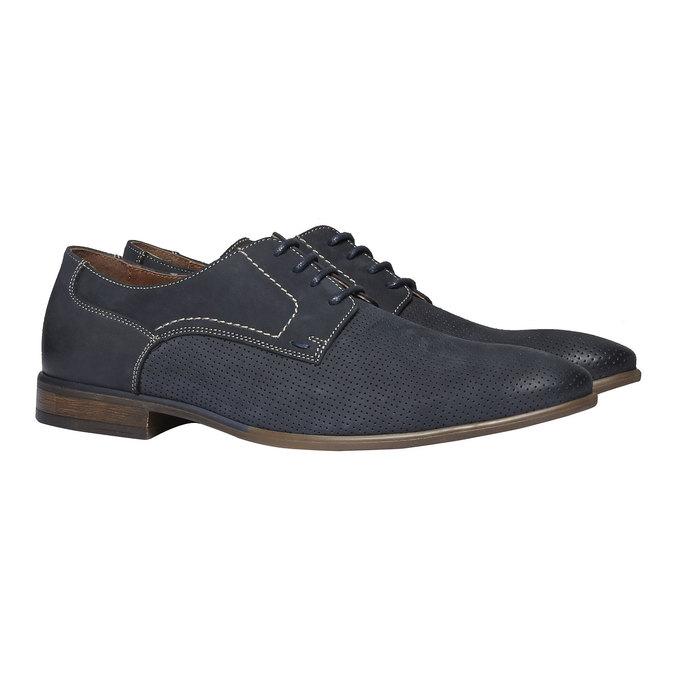 Ležérní kožené polobotky bata, černá, 826-6832 - 26