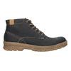 Pánská zimní kožená obuv weinbrenner, černá, 896-6107 - 26