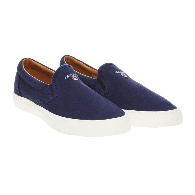 Pánská obuv Slip on gant, modrá, 839-9005 - 26