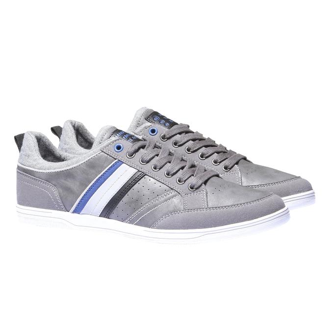 Tenisky s kontrastními detaily bata, šedá, 841-2254 - 26