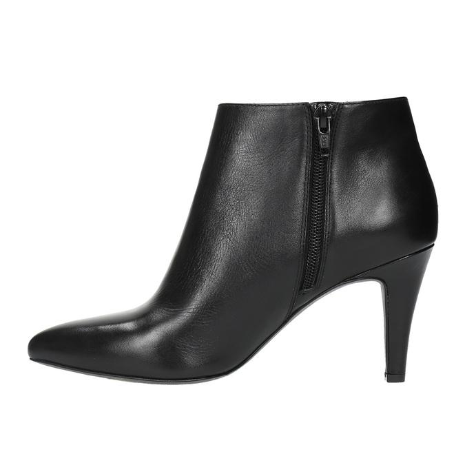 Dámská kotníčková obuv insolia, černá, 794-6629 - 26