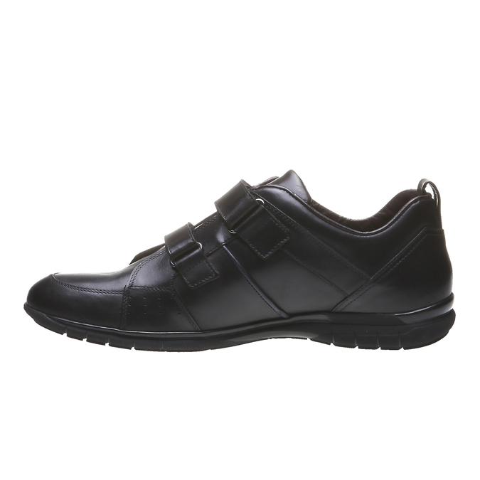 Kožené tenisky bata, černá, 814-6344 - 15