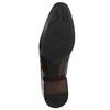 Pánské kožené polobotky conhpol, černá, 824-6736 - 26