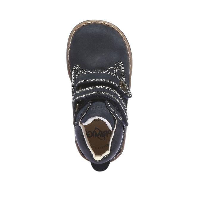 Kožené kotníkové boty primigi, modrá, 116-9134 - 19