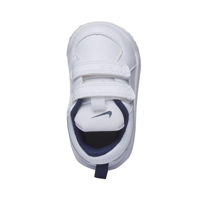 Dětské tenisky na suchý zip nike, bílá, 104-9538 - 19