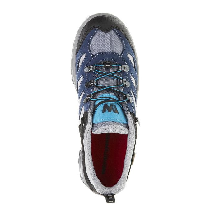 Kožené Outdoor boty, modrá, 543-9208 - 19