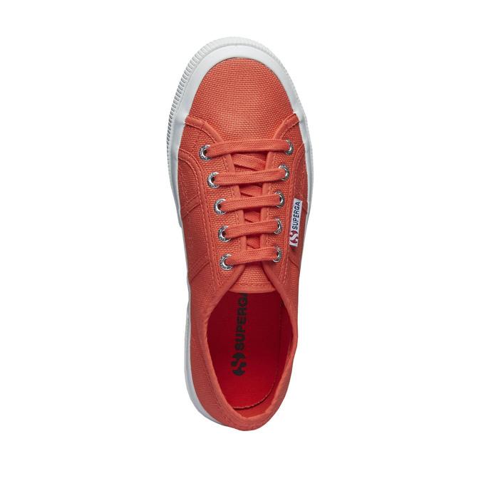 Látkové tenisky superga, červená, 589-5187 - 19