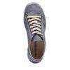 Komfortní kožené tenisky weinbrenner, šedá, 544-9151 - 19
