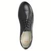 Dámské kožené polobotky flexible, černá, 524-6565 - 19