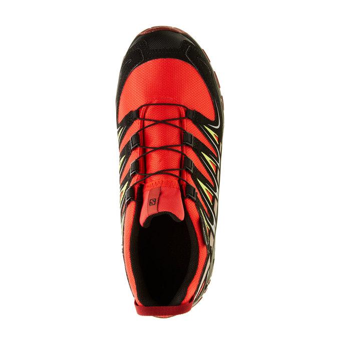 Dětská sportovní obuv salomon, oranžová, černá, 309-5007 - 19