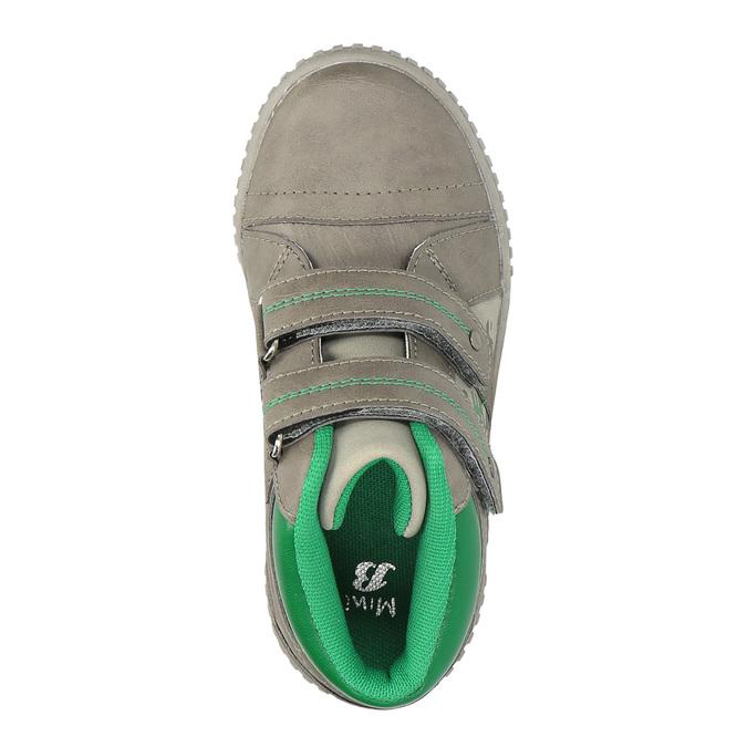 Dětské tenisky mini-b, šedá, 211-2603 - 19