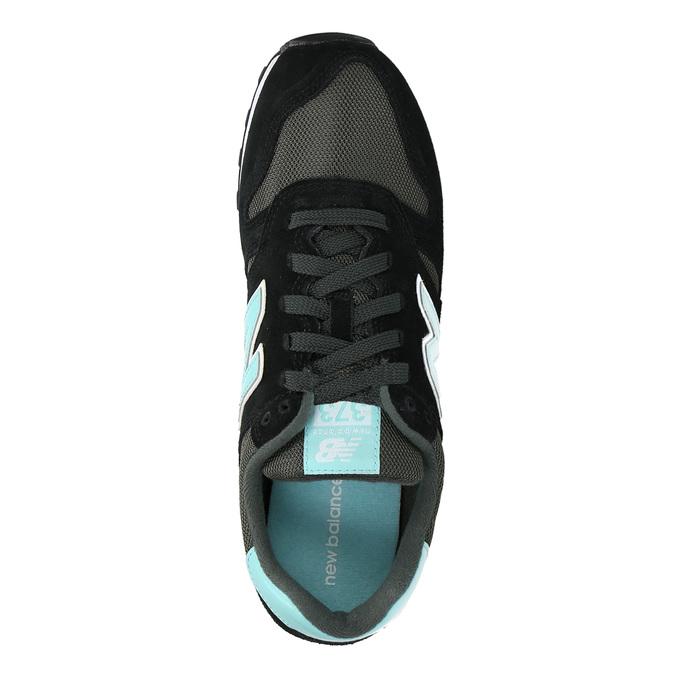 Dámské sportovní tenisky new-balance, černá, 503-6373 - 19