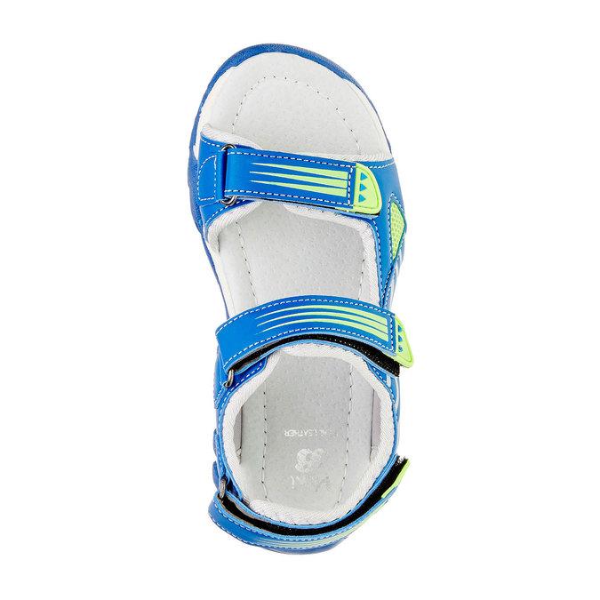 Dětské sandály mini-b, modrá, 261-9168 - 19