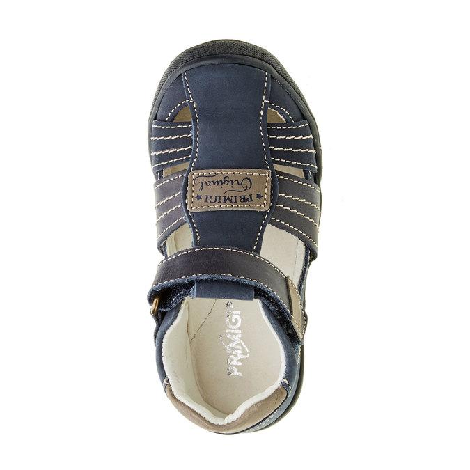 Dětské kožené sandály primigi, modrá, 113-9009 - 19
