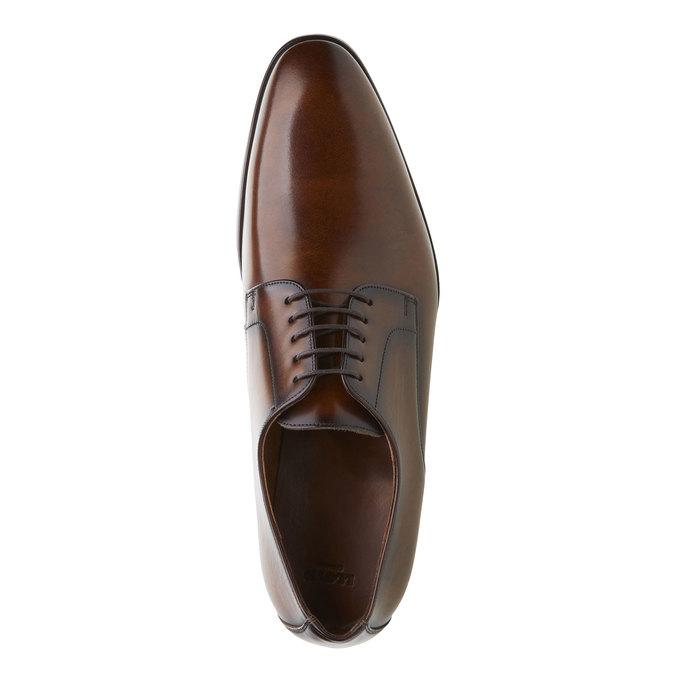 Pánská obuv ve stylu Derby lloyd, hnědá, 824-3338 - 19