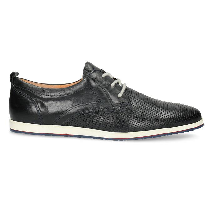Ležérní kožené polobotky bata, černá, 824-9124 - 19