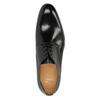 Pánské kožené polobotky bata, černá, 824-6648 - 19