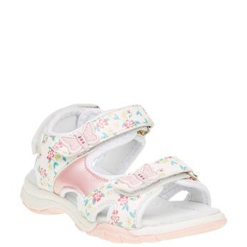 Dětské sandály mini-b, bílá, 261-1165 - 13